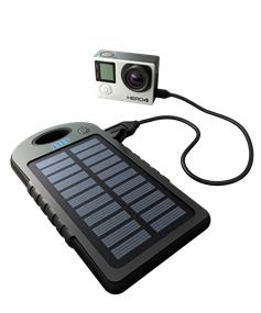 GoPole Dual Charge - USB Power Bank & Solar Charger