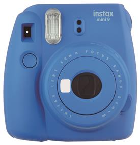 Fujifilm Instax Mini 9 - Instant Film Camera (Cobalt Blue) W/ Out film *** Bundle for FREE Instax film available. Check stores for more details. ***