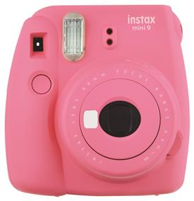 Fujifilm Instax Mini 9 - Instant Film Camera (Flamingo Pink) W/ Out film