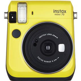 Fujifilm instax mini 70 - Instant Film Camera (Canary Yellow) W/Out film