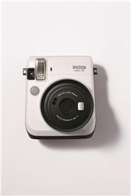 Fujifilm instax mini 70 - Instant Film Camera (Moon White) W/Out film