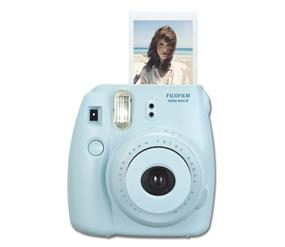 Fujifilm instax mini 8 - Instant Film Camera W/Out film (Blue)