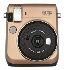 Fujifilm instax mini 70 - Instant Film Camera (Stardust Gold) W/Out film