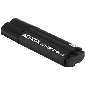 ADATA Superior Series S102 Pro 128GB USB 3.0 Flash Drive - Titanium Grey - Read: 100MB/s, Write: 50MB/s (AS102P-128G-RGY)