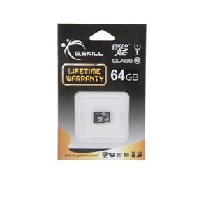 G.Skill 64GB Micro SDXC Card U1-Class10  (FF-TSDXC64GN-U1)