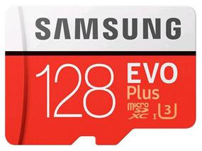 Samsung EVO plus 128GB microSDXC Card (MB-MC128GA/CA)