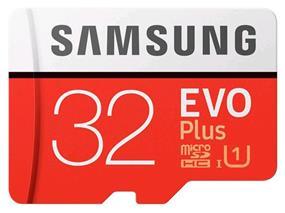 Samsung EVO plus 32GB microSDXC Card (MB-MC32GA/CA)