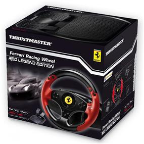 Thrustmaster Ferrari Racing Wheel Red Legend Edition (English Only) PS3