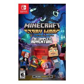 Minecraft Story Mode Complete Adventure (Nintendo Switch)