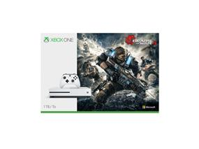 Microsoft Xbox One S Console - 1TB system with Gears of War 4 Bundle