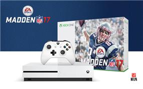 Microsoft Xbox One S Console - 1TB system with Madden NFL 17