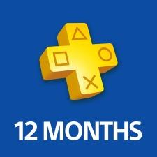 Sony PlayStation Plus - 12 Month Subscription Pre Activated Card