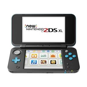 Nintendo 2DS XL Handheld Gaming System (Black & Turquoise)