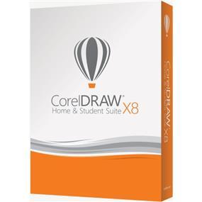 CorelDraw Home & Student Suite X8 EN/FR (CDHSX8EFMBAM)