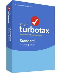 Intuit TurboTax® Standard 2016, 8 returns, bilingual (426110)