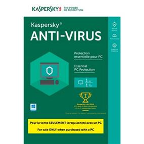 Kaspersky Antivirus 2017/2018 Tech-Bench OEM 1-User BIL