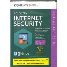Kaspersky Internet Security 2017/2018 Tech-Bench OEM 1-User BIL-For Sale only when purchased with a PC