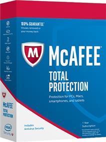 McAfee MFE 2017 TotalProtxn 5Dev (MTP17ZLP5RAA)