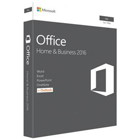 Microsoft Office Home & Business 2016 MAC 2016 English (W6F-00796)