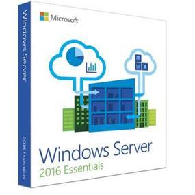 Microsoft Windows Server 2016 Essentials License and Media