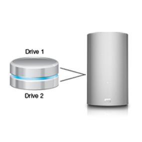 WD My Book Thunderbolt 8TB Dual Drive (WDBUTV0080JSL-NESN)