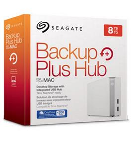 Seagate Backup Plus Hub for Mac 8TB USB 3.0 External HDD (STEM8000400)