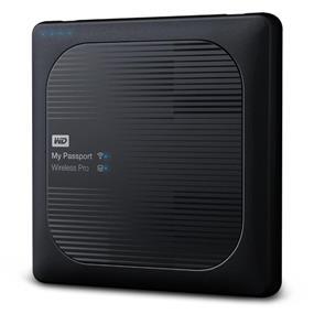 WD 1TB My Passport Wireless Pro Portable External Hard Drive - WiFi AC, SD, USB 3.0 - WDBVPL0010BBK-NESN