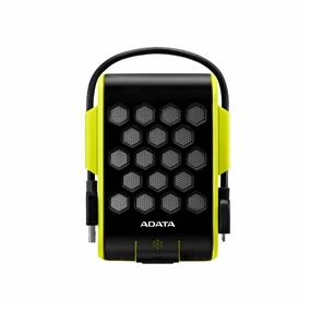 ADATA HD720 2TB Yellow/Green USB 3.0 Waterproof/ Dustproof/ Shock-Resistant External Hard Drive (AHD720-2TU3-CGR)