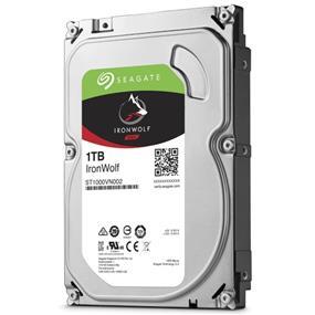 Seagate IronWolf 1TB 3.5 Internal NAS HDD SATA 6Gb/s (ST1000VN002)