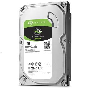 "Seagate BarraCuda 1TB 3.5"" Internal Desktop HDD SATA 6Gb/s (ST1000DM010)"