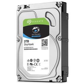 "Seagate SkyHawk 3TB 3.5"" Internal Surveillance HDD SATA 6Gb/s (ST3000VX010)"