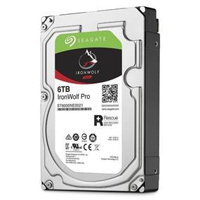 Seagate IronWolf Pro 6TB 3.5 Internal NAS HDD SATA 6Gb/s (ST6000NE0021)