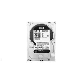 """WD Black 6TB 7200RPM SATA 6GB/S 128MB Cache 3.5"""" (WD6002FZWX)"""