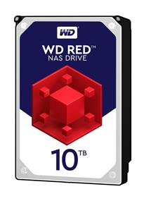 WD Red 10TB NAS Desktop Hard Disk Drive - Intellipower SATA 6 Gb/s 256MB Cache 3.5 Inch - WD100EFAX