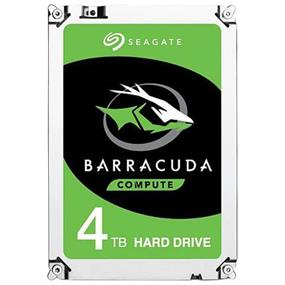 "Seagate BarraCuda 4TB 256MB Cache 3.5"" Internal Desktop HDD SATA 6Gb/s (ST4000DM004)"