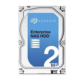 "Seagate Enterprise NAS 2TB 7200 RPM 128MB Cache 3.5"" Internal Hard Drive with 5 years Rescue service (ST2000VN0011)"