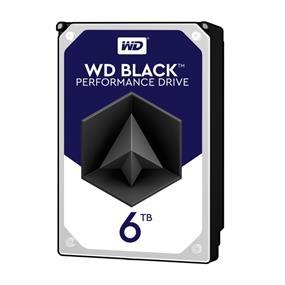 WD Black 6TB SATA 6Gb/S 7200RPM 3.5'' 128MB  (WD6001FZWX)