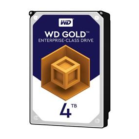WD Gold 4TB 3.5'' SATA 6Gb/s 128MB 7200RPM high-capacity datacenter hard drive WD4002FYYZ
