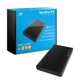 "Vantec Storage Accessory NexStar TX 2.5"" USB 3.0 HDD Enclosure Black (NST-228S3-BK)"