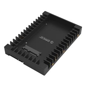 "ORICO Standard 2.5"" to 3.5"" Hard Drive Tray Converter- Black (1125SS)"