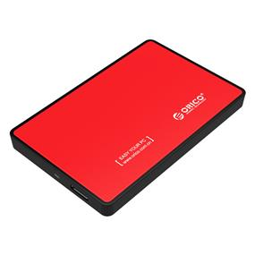 ORICO 2588US3-RD USB 3.0 to 2.5'' SATA External Hard Drive Enclosure Red