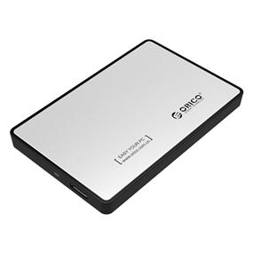 ORICO 2588US3-SV USB 3.0 to 2.5'' SATA External Hard Drive Enclosure Silver