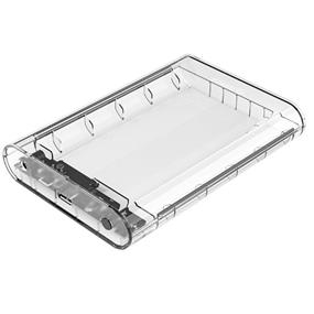 ORICO 3.5 inch Transparent External Hard Drive Enclosure (3139U3)