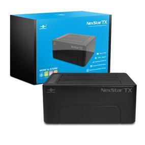 Vantec Storage Accessory NexStar TX Dual Bay USB 3.0 HDD Dock Black (NST-D428S3-BK)
