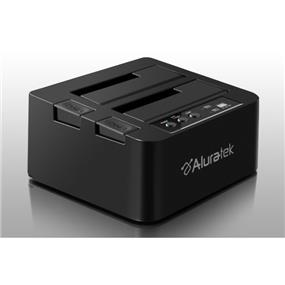 "Aluratek HDD Duplicator Docking ENCL USB 3.0  Supporting 2.5"" / 3.5"" HDD (AHDDUB300F)"