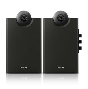 Philips SPA4270BT/37 Bluetooth Multimedia Speakers 2.0 (Black)