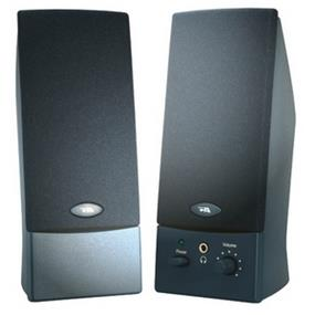 Cyber Acoustics 2.0 Speaker System - Black - USB