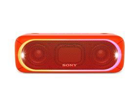 Sony SRS-XB30 Bluetooth Portable Wireless Speaker (Red)