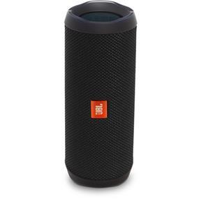 JBL Flip 4 Waterproof Portable Bluetooth Wireless Stereo Speaker (Black) (JBLFLIP4BLKAM)