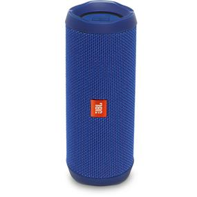 JBL Flip 4 Waterproof Portable Bluetooth Wireless Stereo Speaker (Blue) (JBLFLIP4BLUAM)